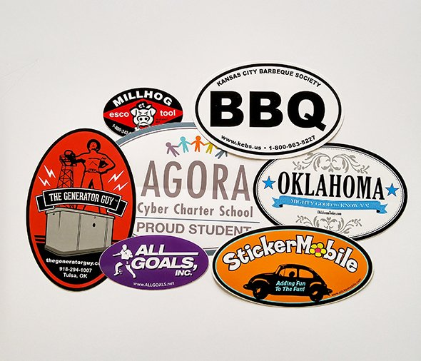 Custom Stickers Tulsa