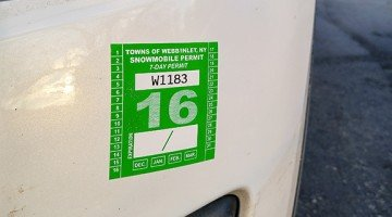 custom printed viny parking permit stickers & decals from Websticker