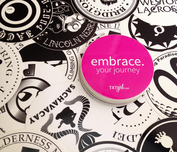 round vinyl, screen printed stickers custom printed by Websticker