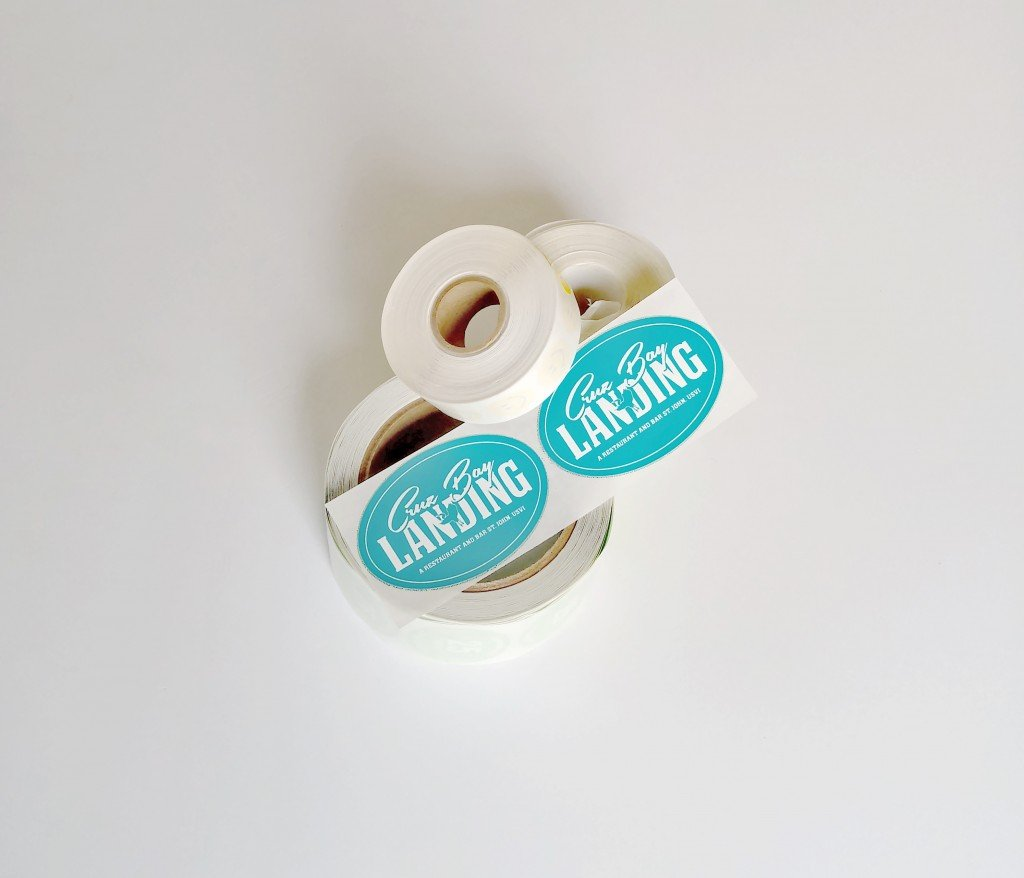 rolls of custom oval sticker labels made by websticker