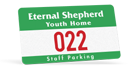 custom parking permit stickers and decals with numbering for cars made by Websticker