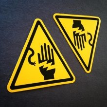 Yellow vinyl - perfect for #warning #stickers! #watchout!