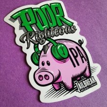 Wishing our friends at @jailbreakbrewco a HAPPY 2ND ANNIVERSARY!!!! Have an amazing time at the party tonight with @dirtyheads and congrats on the #PoorRighteousIPA release!  #jailbreakbrewing has got it going on!! Check out these #stickers!! BAM!  #herepiggypiggy #mdbeer #marylandbeer #craftbeer #drinklocal