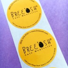 Looking for roll labels? We've got you covered! #marketing #branding #stickers