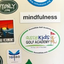 We added a new magnet to our fridge door today! We love the excited Kangaroo! ⛳️🏌#magnet #stickers #marketing #branding #golf #australia