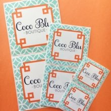Sometimes, one size does not fit all. Love these labels @cocobluboutique! #stickers #marketing #branding #shop #boutique