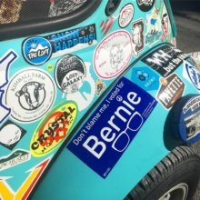 🇺🇸 About last night...#stillbernie #debate #stickers #stickermobile #politics