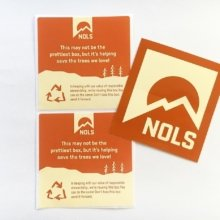 ♻️ Reuse & Recycle ♻️ #environmentallyfriendly #reuse #recycle #nols #stickers #marketing #branding