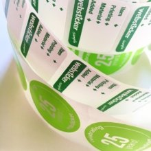 Rolls on rolls of labels! 👍👍 #marketing #stickers #branding