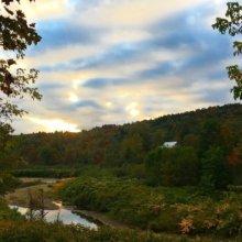 Office Views at Websticker!🍁🍂🍃 #foliage #Stowe #Vermont #vtphoto #stickers #marketing #vermontbyvermonters