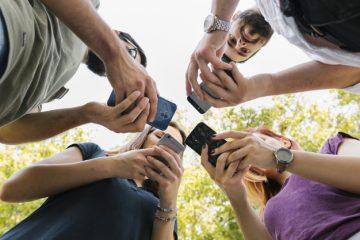 Millennials on their phones - best marketing ideas